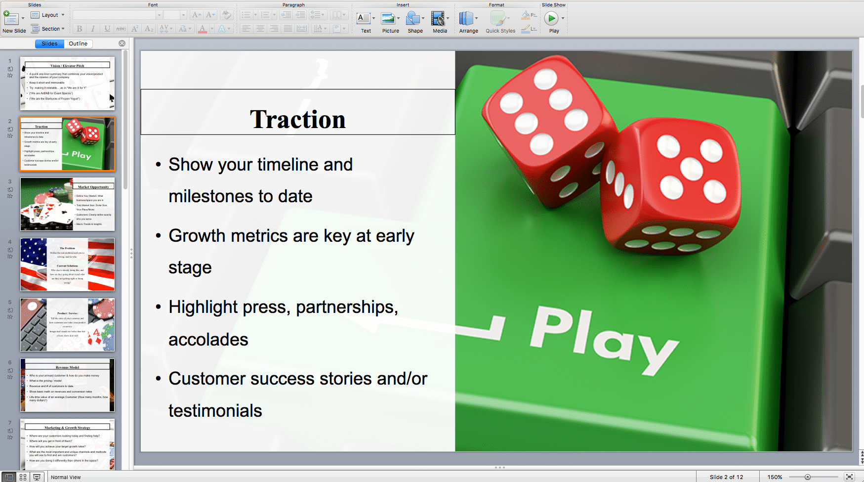 Online poker business plan template