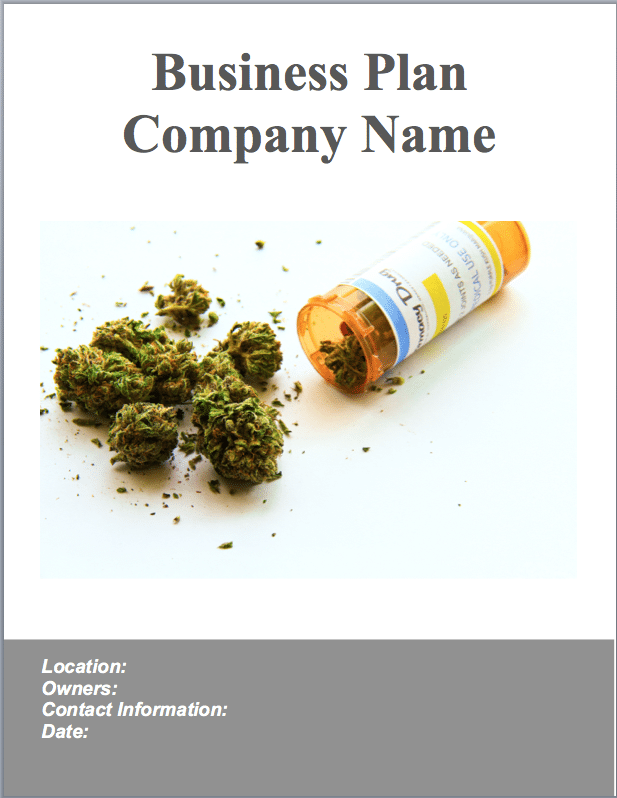 Marijuana dispensary business plan sample