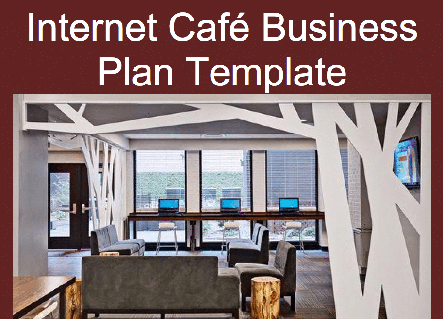 business plan internet cafe