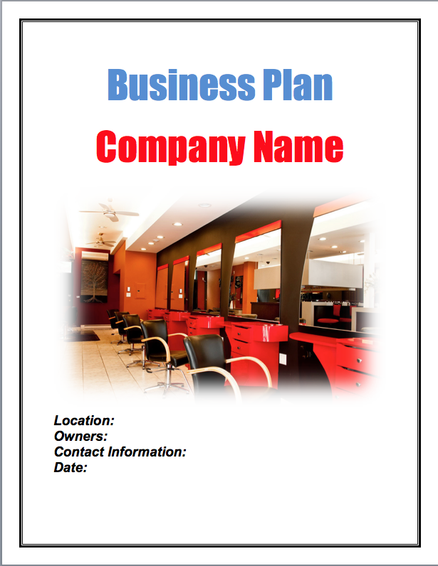 salon business plan Beauty salon, cosmetology business plans, links and other resources to help small business owners grow their salon, beauty supply and related businesses.