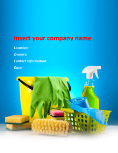 Cleaning maid business plan