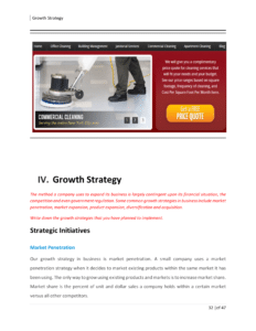business plan for janitorial business