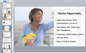 maid service presentation