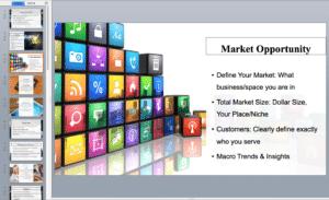 Mobile app pitch deck