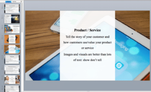 mobile app powerpoint