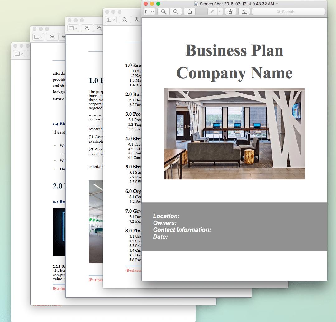 Internet Cafe Business Plan Sample Pages Black Box Business Plans
