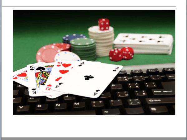 Online gambling website business plan template
