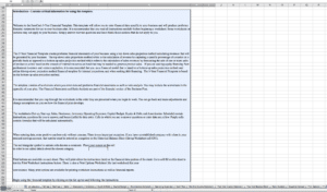 Master Business Plan Template Excel Sample