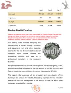 Master Plan Food Service Sample Pages