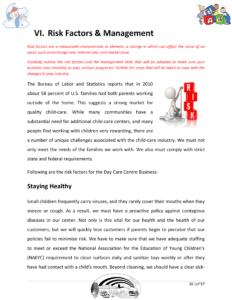 childcare business plan