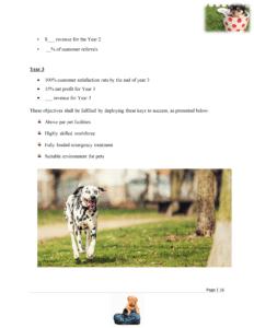 dog breeding business plan