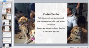 dog breeding pitch deck