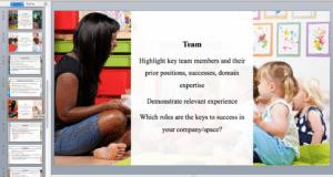 daycare presentation