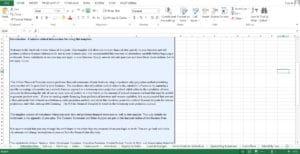 Used Car Dealer Business excel worksheet