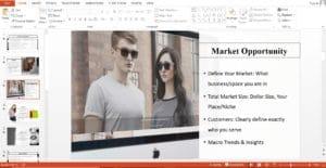 Online Fashion Boutique Business Plan Template