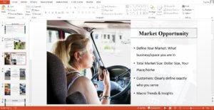 Trucking Business powerpoint Template