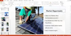 Solar Company powerpoint