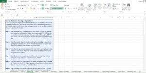 Home Health Care Excel Template