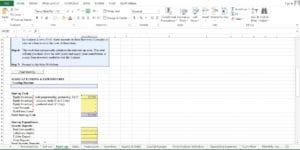 Vending Machine Excel Worksheet