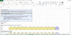 Day Care Excel Worksheet