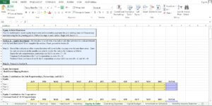 Real Estate/Realtor Company excel worksheet