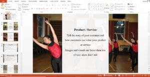 Dance Studio powerpoint