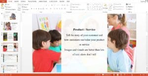 Day Care Powerpoint Template
