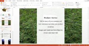 Medical Marijuana Powerpoint Pitch Deck