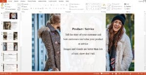 Retail Fashion Store Powerpoint Template