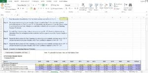 Commercial Cleaning Excel Template