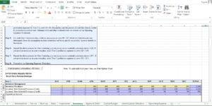 Retail Fashion Store Excel Worksheet