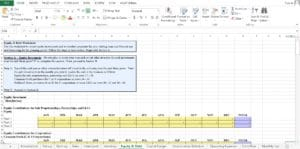 Microbrewery Excel Template