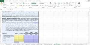Car Wash Excel Worksheet