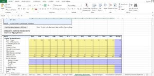 Real Estate/Realtor Company excel template