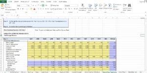 Self Storage Excel