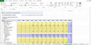 Bar Excel