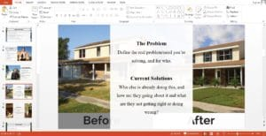 Real Estate House Flipping Powerpoint Pitch Deck