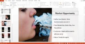 Vape Store Business Plan Template