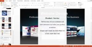 Website Design and Development Powerpoint Template