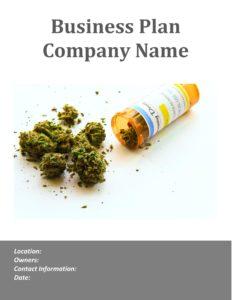 Medical Marijuana Business Plan Template