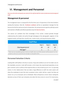 Commercial Cleaning Business Plan Template