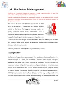 Day Care Business Plan Template