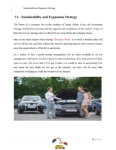 Used Car Dealer Business Plan Template