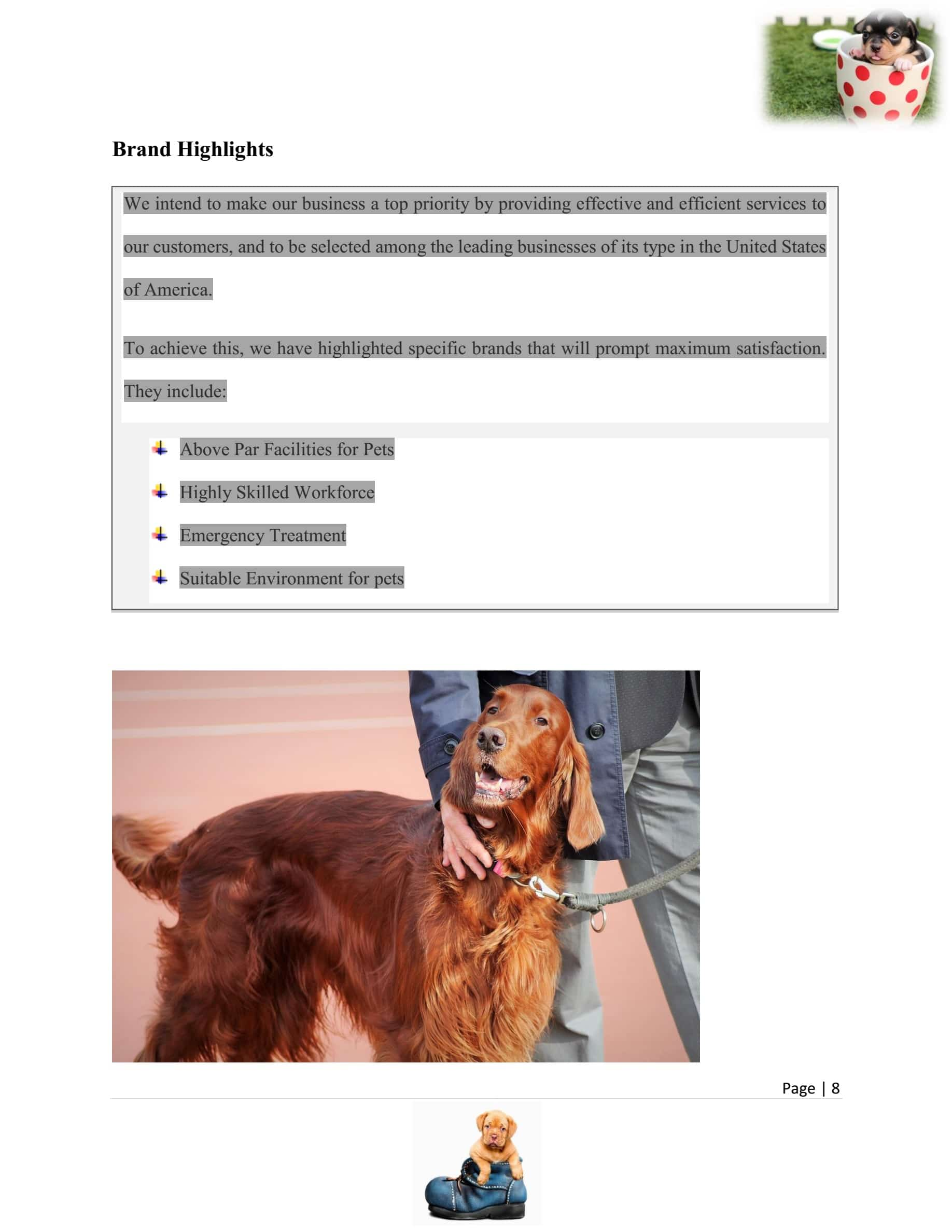Dog breeding business plan template sample pages black box dog breeding business plan template accmission Choice Image