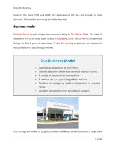 Substance Abuse Center Business Plan Template