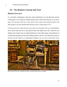 Barbershop Business Plan Template