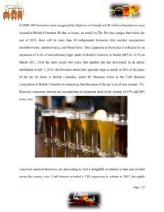 Microbrewery Business Plan Template