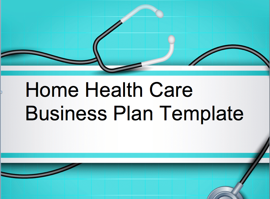 Home Health Care/Elderly Care Business Plan - Black Box Business Plans