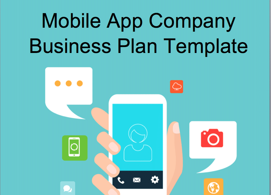 Mobile App Business Plan Editable Example Black Box Business Plans - Business plan template for app