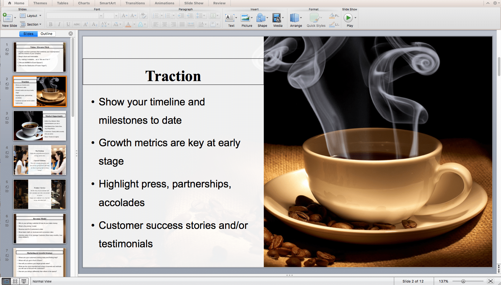 gourmet coffee product launch plan coffee shop business plan